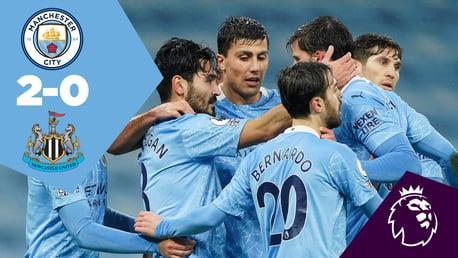 City 2-0 Newcastle: Full-match replay