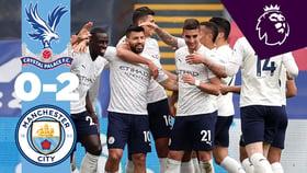 Palace 0-2 City: En Bref