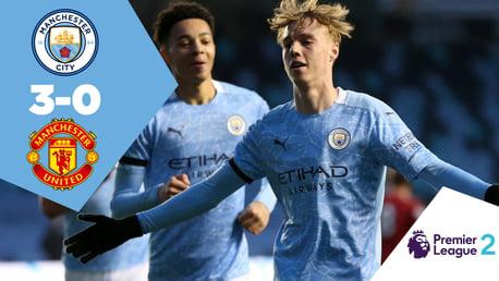 Full-match replay: EDS 3-0 United
