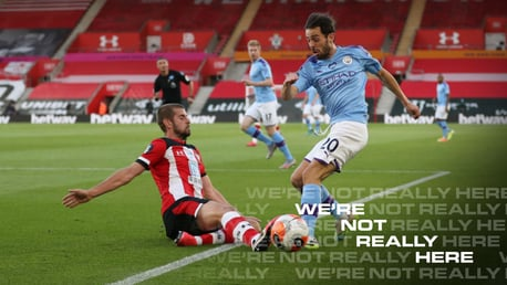 Bernardo: City will heed lessons of Southampton loss