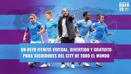 ¡Prepárate para el Nexen Road to Man City, el desafío virtual de fitness!