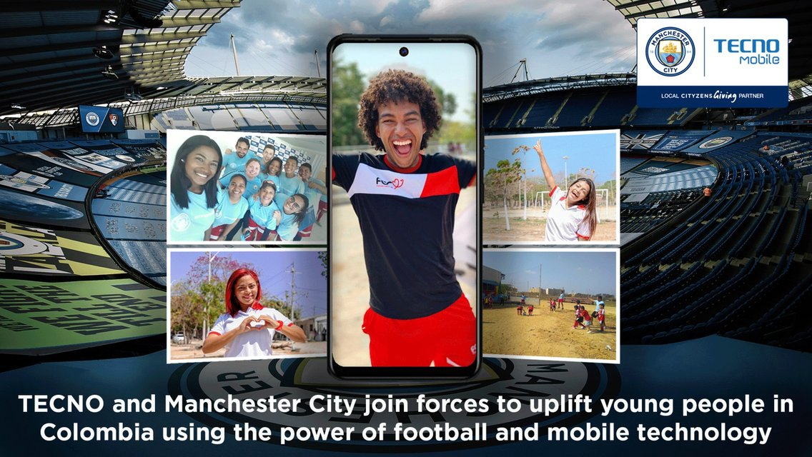 TECNO Mobile supports Cityzens Giving programme in Colombia