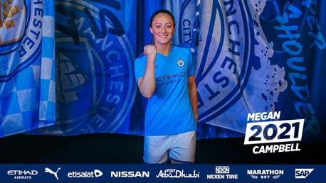Megan Campbell renova até 2021