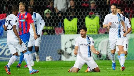 Classic highlights: Viktoria Plzen 0-3 City 2013
