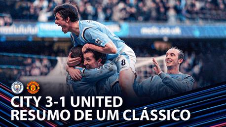 Resumo: City 3-1 United 2006