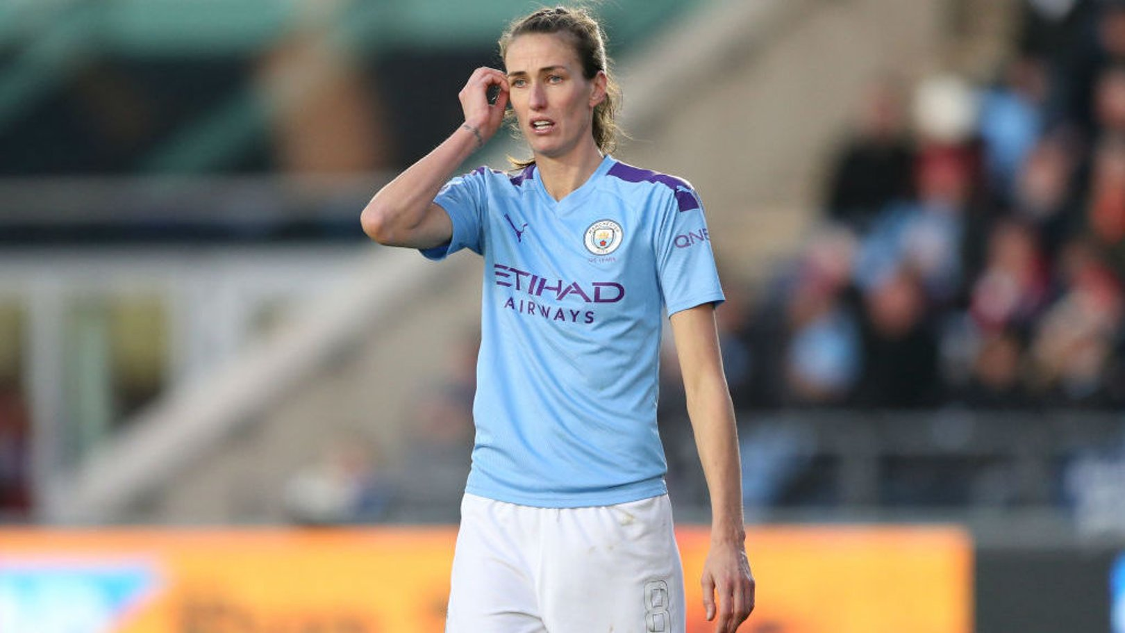 BACK TO WORK: Jill Scott says the players are ready to resume our WSL campaign