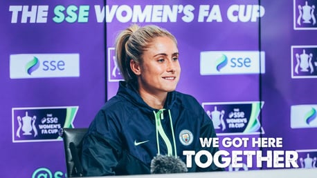 Houghton delighted by bumper FA Cup crowd