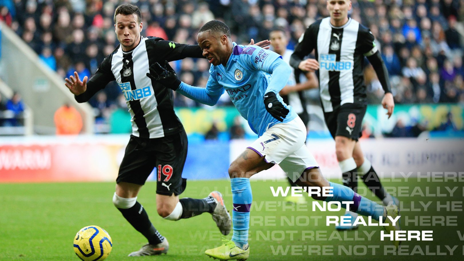 Which TV channel is Newcastle v City on?
