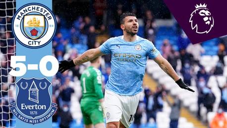 City 5-0 Everton: Melhores Momentos