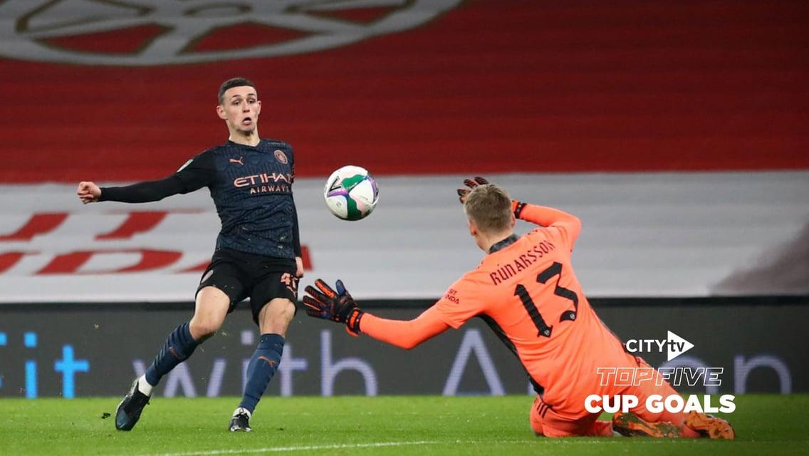 City's Top Five Cup Goals