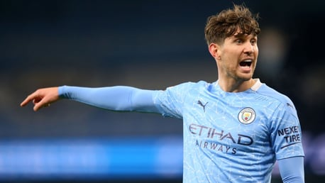 ROCK: Stones had a brilliant game v Fulham, helping City to another clean sheet.