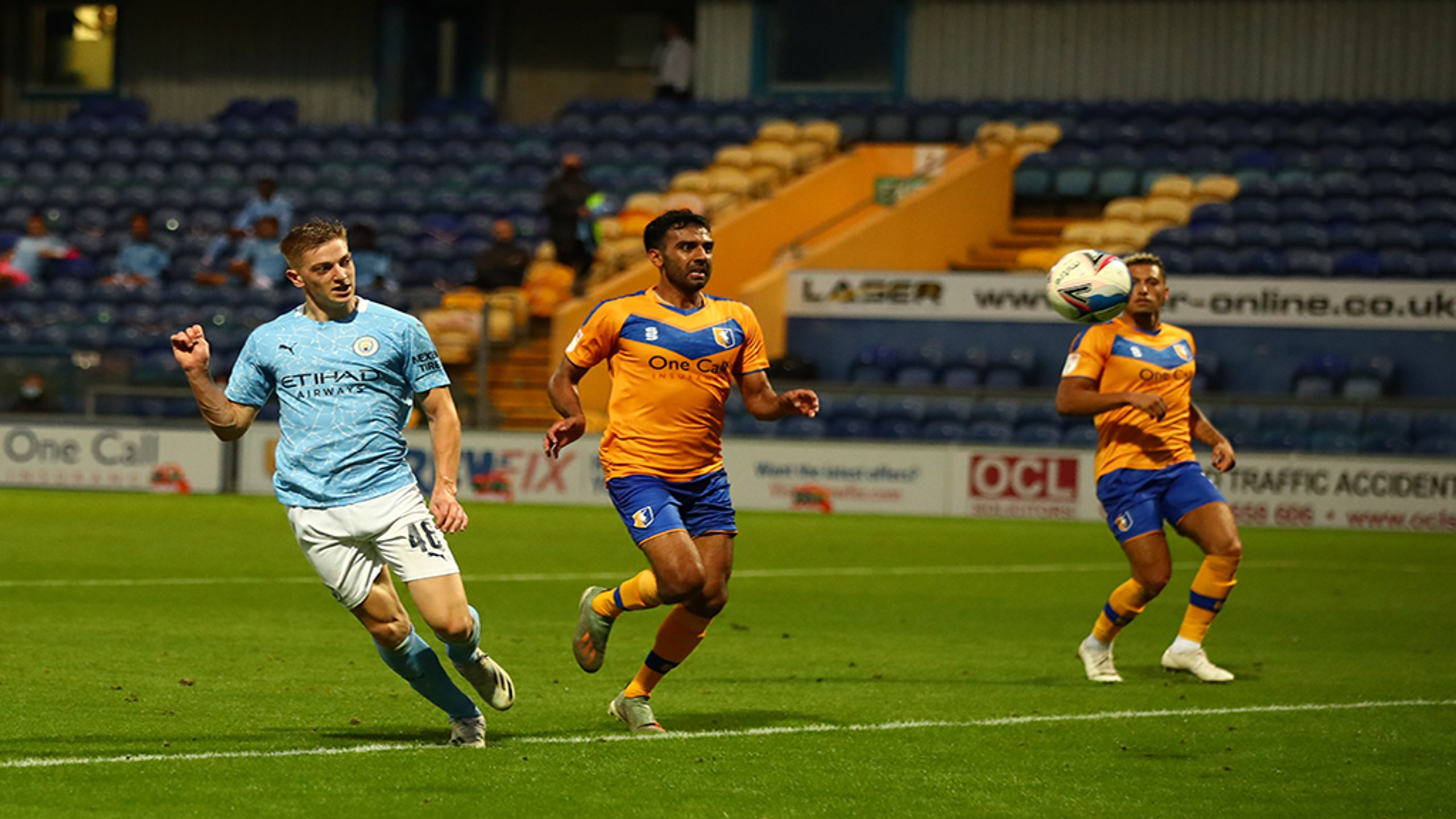 Delap at the double as Under-21s make flying start