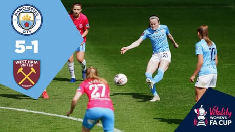 Women's FA Cup Extended Highlights: City 5-1 West Ham