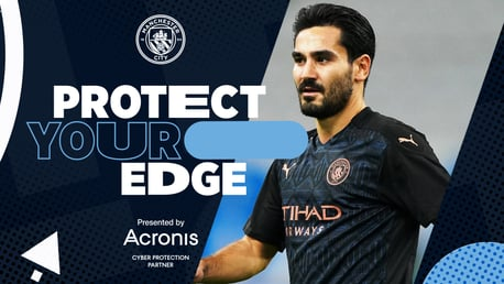 Acronis | Protect Your Edge: Ilkay Gundogan