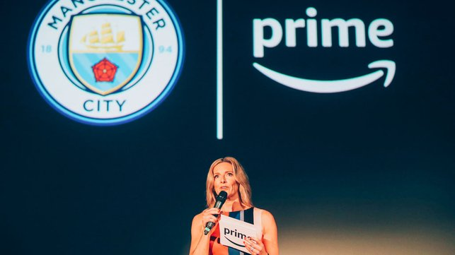 PRIME TIME : Gabby Logan hosted the event