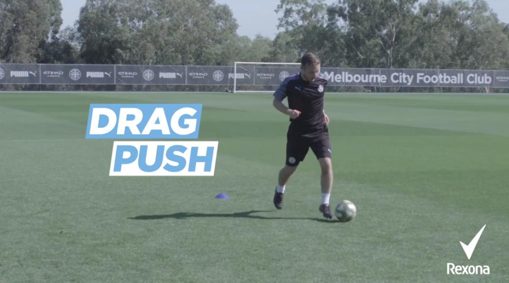 1v1 challenge 9: The drag push
