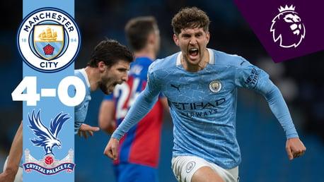 City 4-0 Crystal Palace: Full-match replay