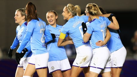 THIS IS HOW IT FEELS TO BE CITY: Smiles all round as the team celebrate