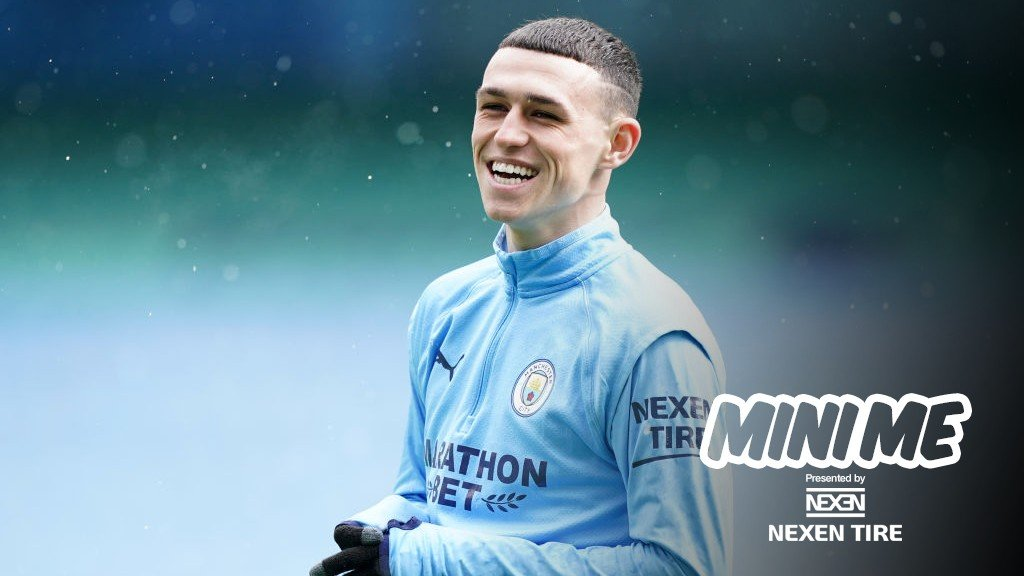 Phil Foden: Mini Me