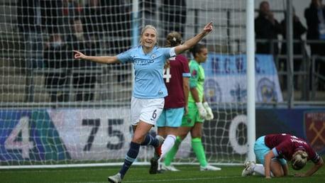 Classic FA WSL highlights: City 7-1 West Ham
