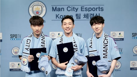 City and Nexon unveil Club's latest Esports team
