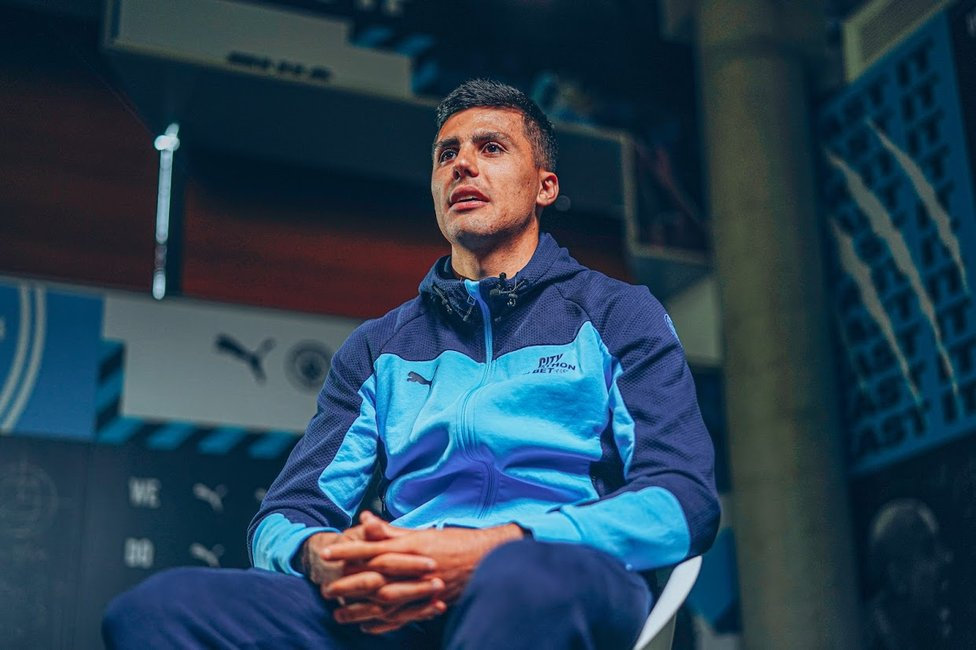MARATHON MAN: Rodrigo played 53 games across all competitions for City in the 2020/21 campaign