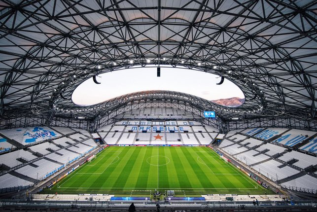 STAGE IS SET : The Stade Velodrome, Marseille