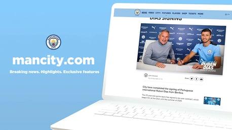 ManCity.com & Aplikasi Resmi Man City: Untuk Semua Tentang City