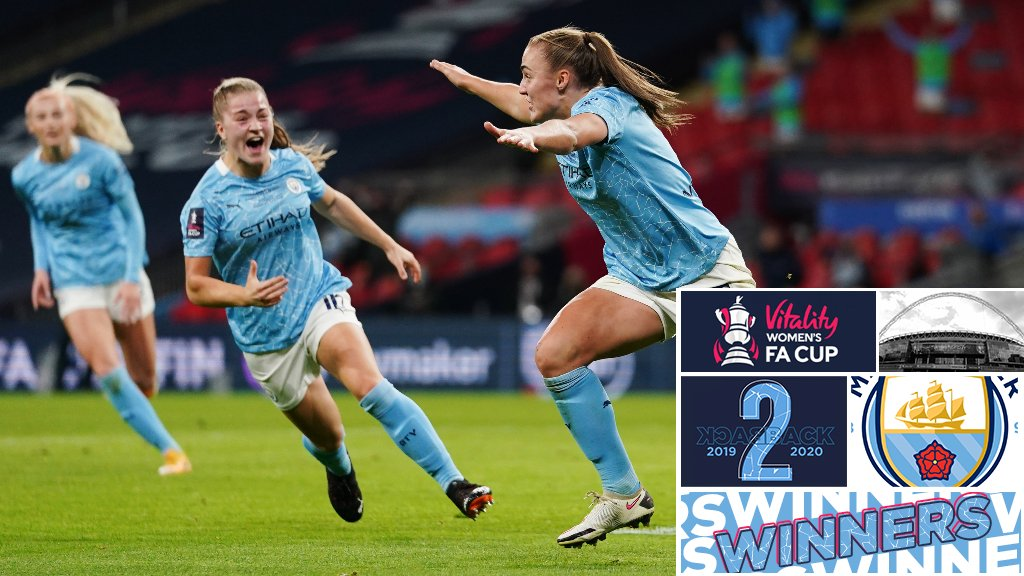 Women's FA Cup Final highlights: Everton 1-3 City (AET)