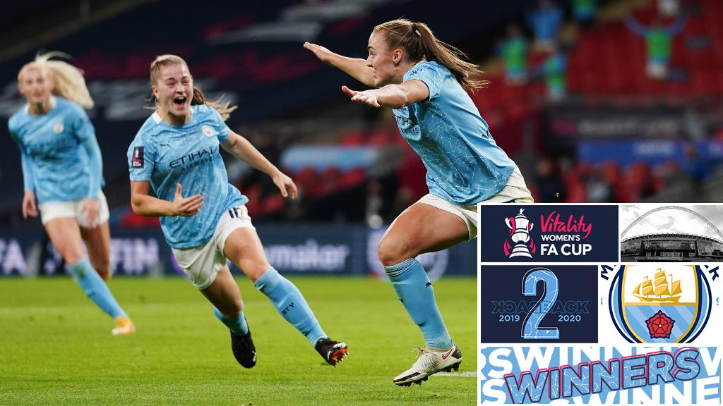 여자 FA컵 결승전 H/L   에버튼 1-3 CITY