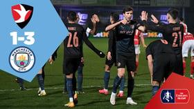 Cheltenham Town 1-3 City: Full-match replay