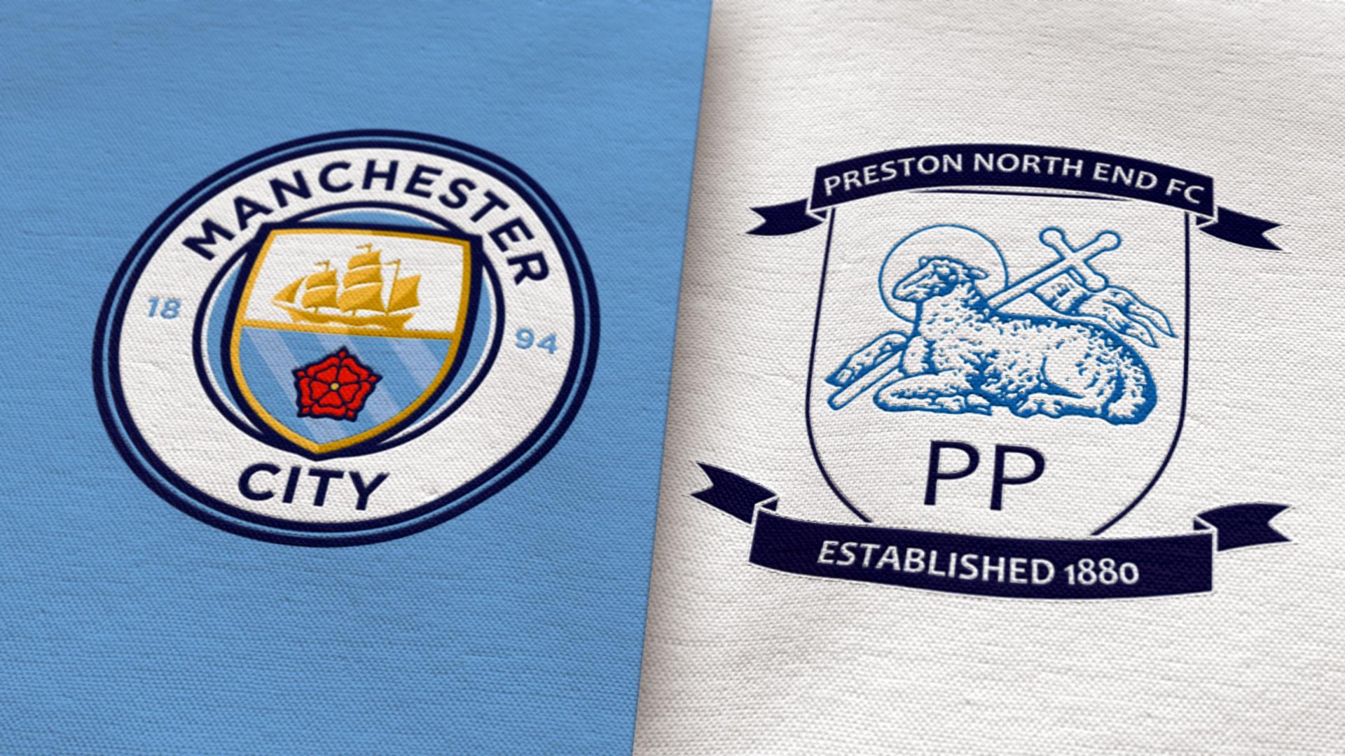 City v Preston North End: Match Centre