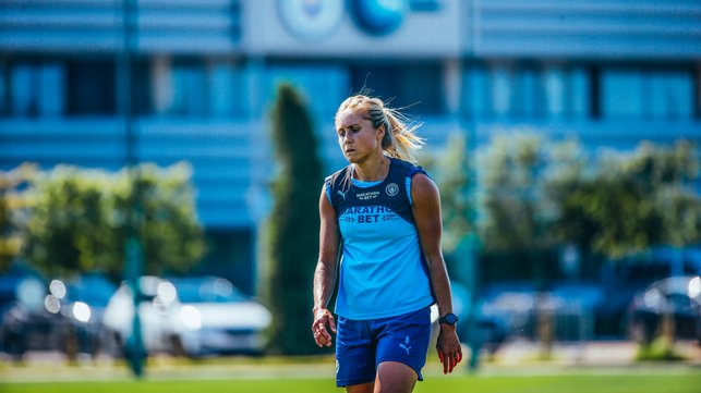 TRUE BLUE: Our captain is a study in concentration