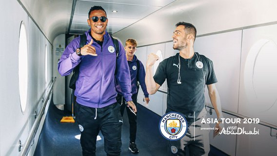 HERE WE GO: Danilo and Bernardo have some catching up to do ahead of our summer tour