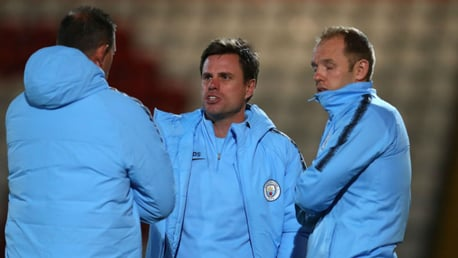 REACTION TIME: Paul Harsley is urging City's Under-21s to react in positive fashion in tonight's Checkatrade Trophy trip to Rochdale