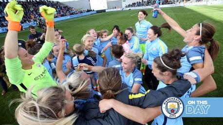 FA WSL Flashback: City win the 2016 title!
