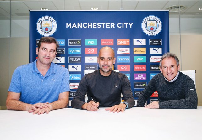 TO BE CONTINUED... : Guardiola pens a new deal in November 2020, keeping him at the Etihad Stadium until the summer of 2023