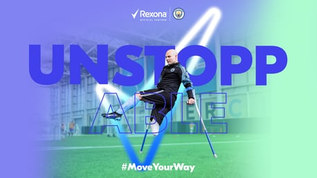 City in the Community disability programme partners with Rexona