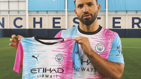 Sergio Aguero reveals PUMA kit design winner