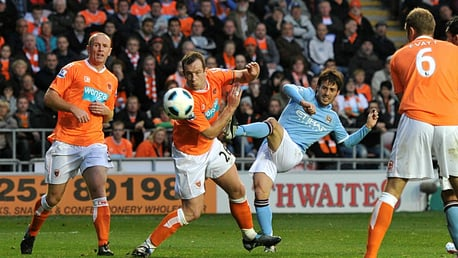MARQUEE SIGNING: David Silva joined City in June 2010