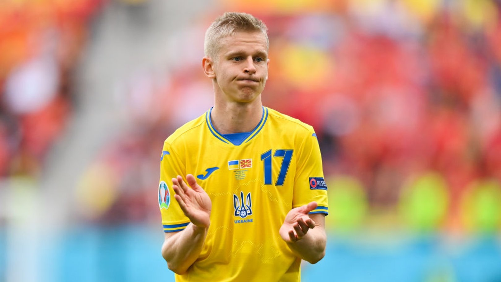 Zinchenko: We need the game of our lives to beat England