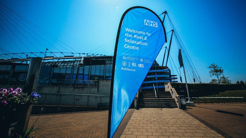 Etihad Campus transformed as Club forms NHS partnership in response to Coronavirus