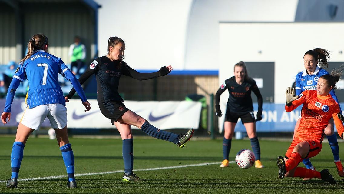 Féminines: Brighton 1-7 City: le résumé