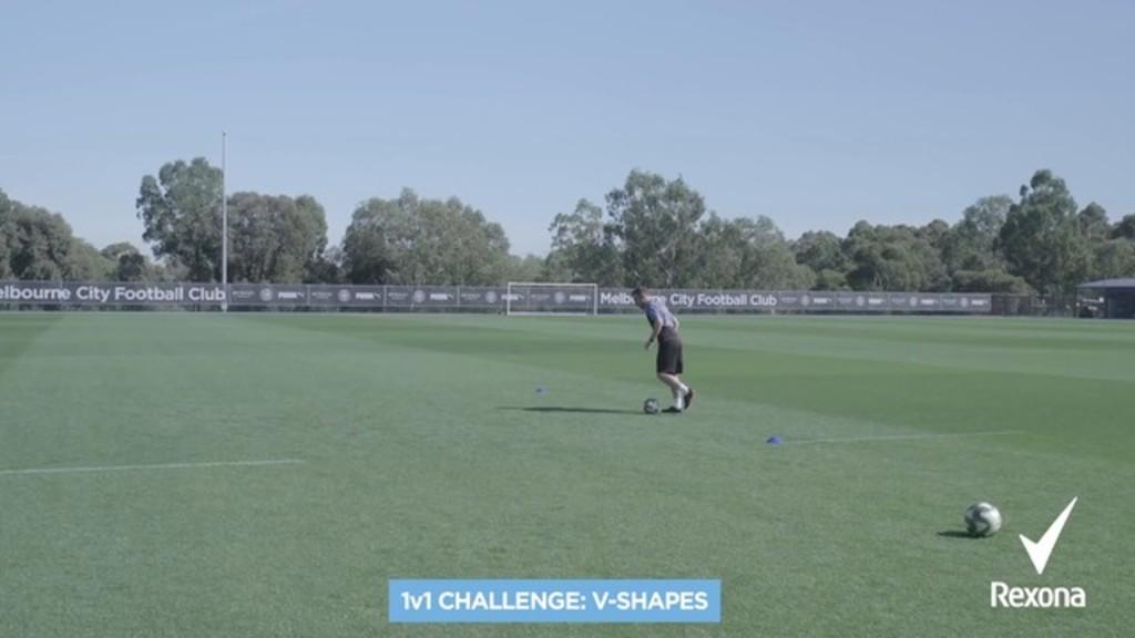 1v1 challenge 2: V-shapes