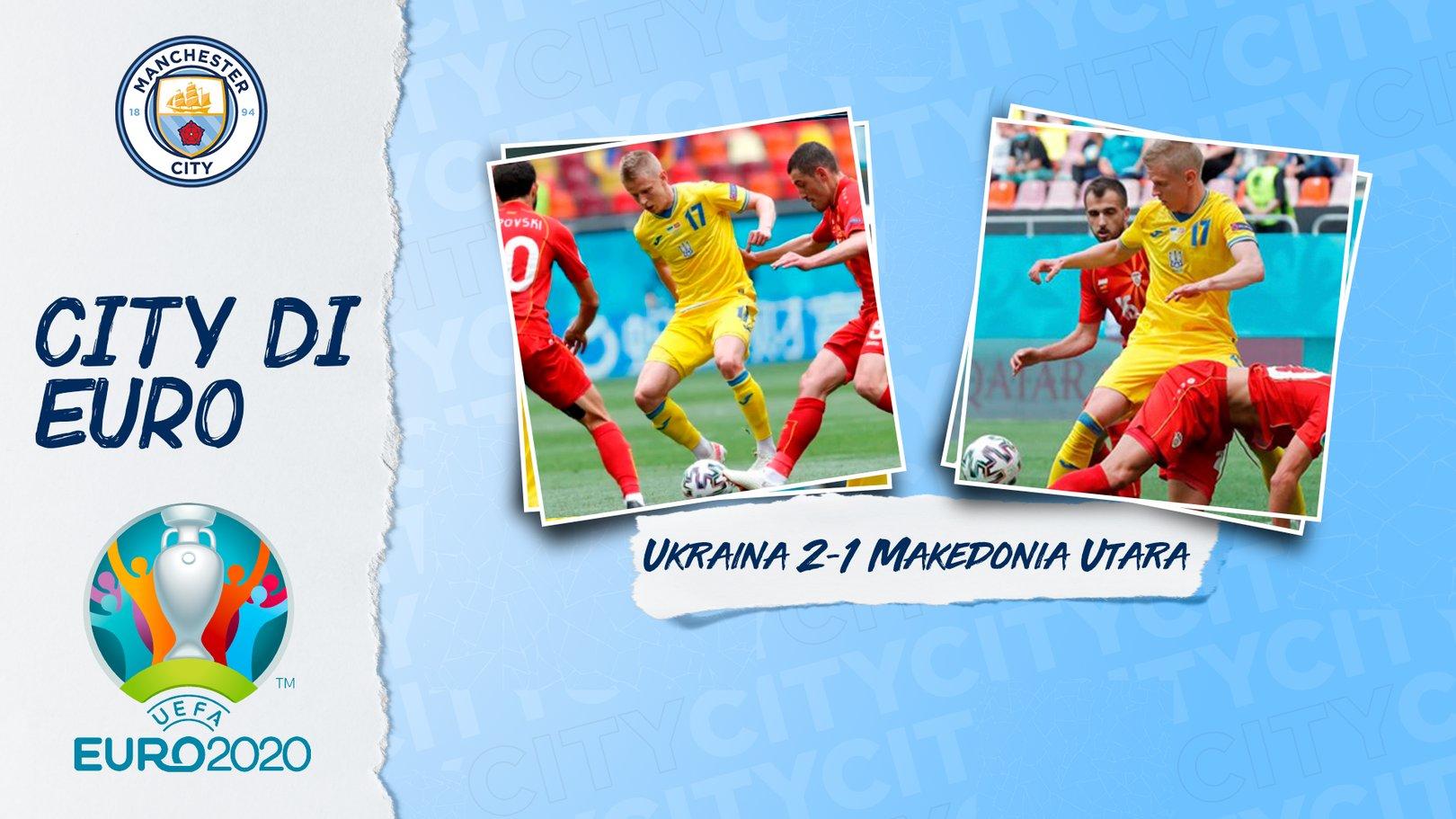 Zinchenko Membantu Ukraina Meraih Kemenangan Pertama Euro 2020