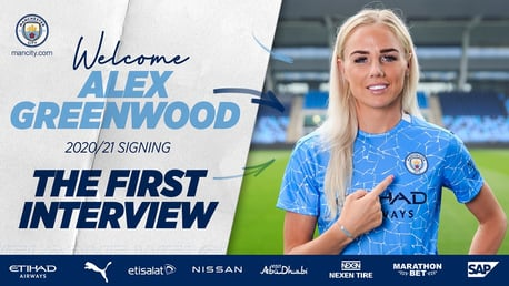 "Alex Greenwood: ""I can't wait to get started!"""