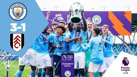 Full Match Replay: City U18s 3-1 Fulham