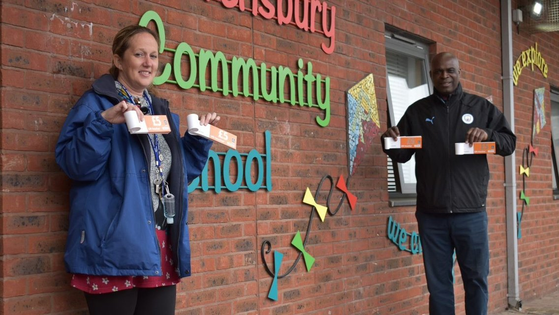 CITC deliver £10,000 worth of food vouchers to schools