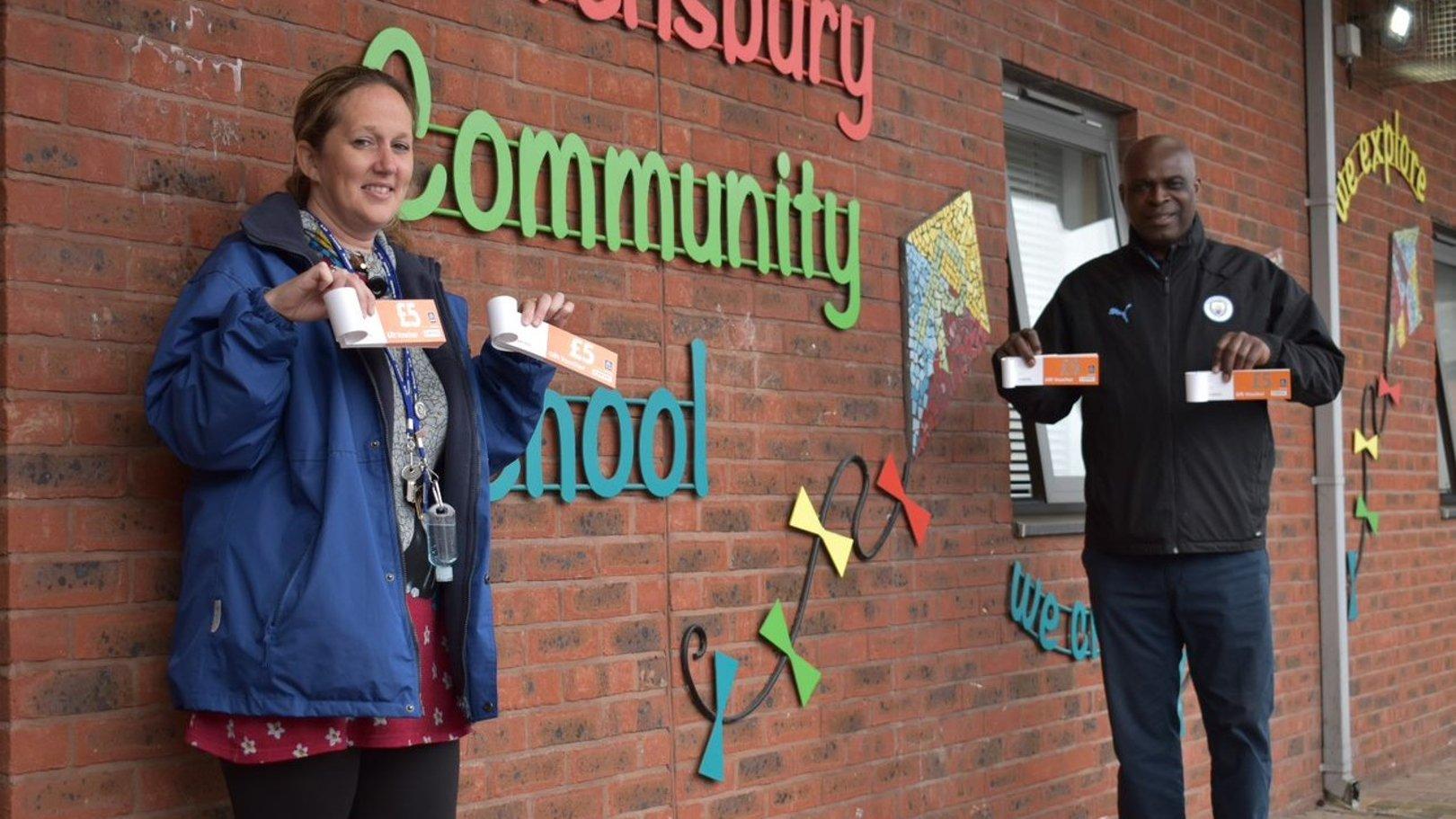 CITC deliver £10,000 worth of food vouchers to schools