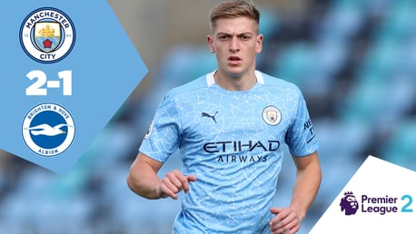 Full-match replay: CITY EDS 2-1 Brighton U23s